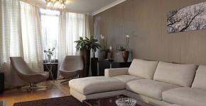 Интерьер зала в квартире (фото) 19