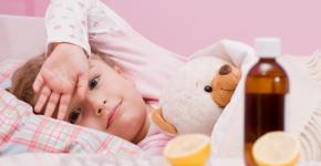 ангина у ребенка в 1 год