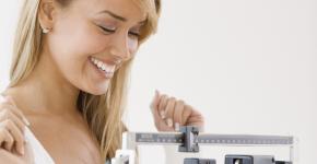 нормальный вес женщины