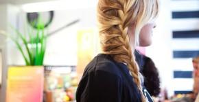 Колоски на длинные волосы 2