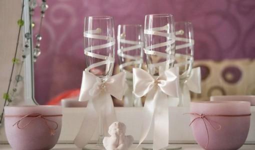 Бокалы на свадьбу своими руками 1