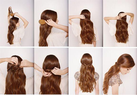 Прически на длинные волосы 100 новых фото пошаговые