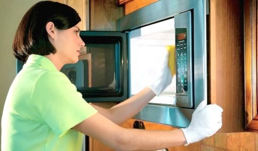 как отмыть микроволновку9