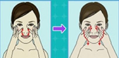 Устраняем носогубные складки