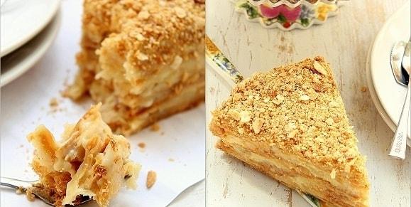 Рецепт крема заварного для торта наполеон