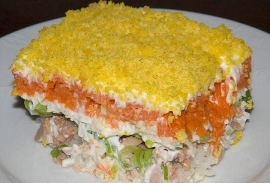 фото салат мимоза рецепт+салат мимоза рецепт с фото 21