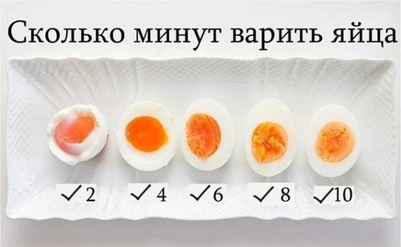 foto jajca vsmjatku skolko varit 5