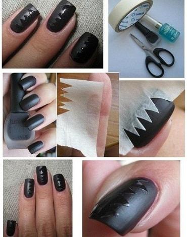 Матовый лак для ногтей в домашних условиях видео
