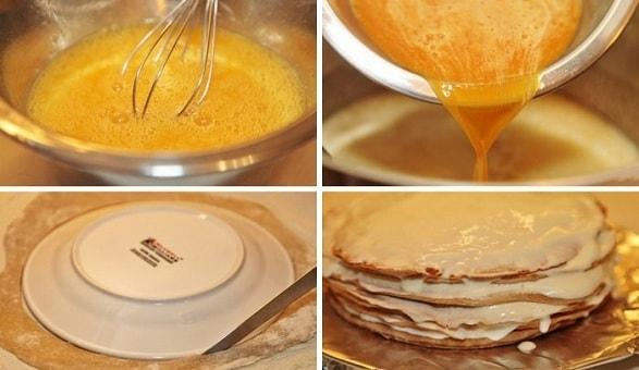Рецепт торта медовый пошаговый рецепт с