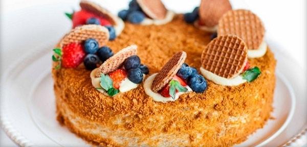 Торт Рыжик Классический Рецепт С Фото Пошагово в 2019 году