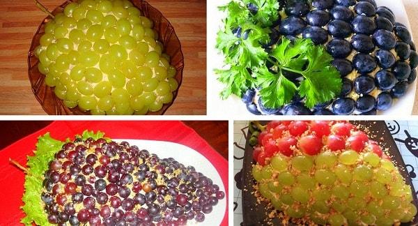 салат от тиффани с виноградом рецепт