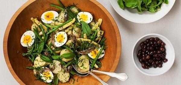 рецепт салата из стручковой фасоли с тунцом