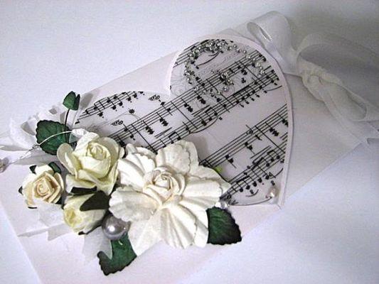 приглашение на свадьбу в романтическом стиле