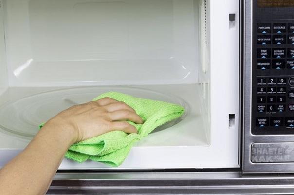 как отмыть микроволновку8