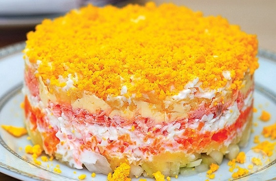 salat-mimoza-recept photo 1