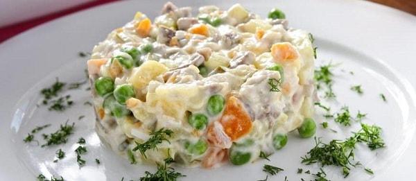 салат оливье рецепт классический