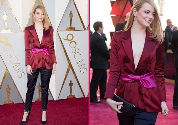 Emma foto narjady na ceremonii Oskar