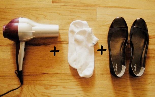 как растянуть обувь 11