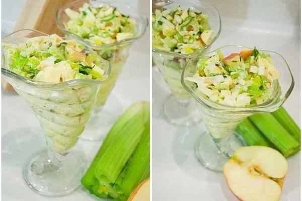 Салат для похудения щетка 6