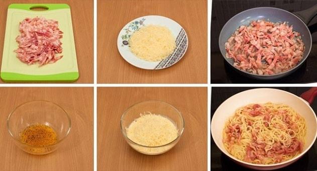 foto pasta karbonara recept 8