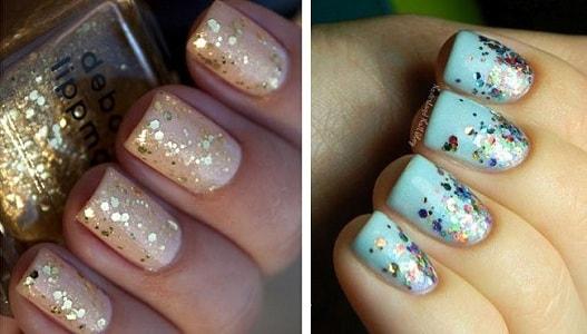 glitter foto manikjur na korotkie nogti-min