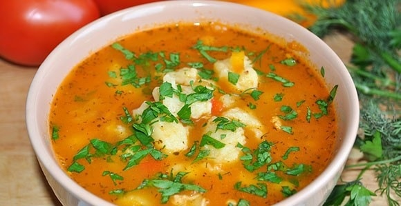 foto sup s kleckami recept 1
