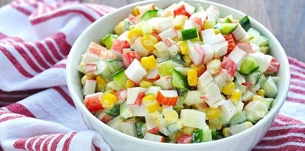 krabovyj salat s risom recept 2