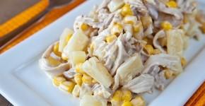 foto salat s kuricej i ananasami 2