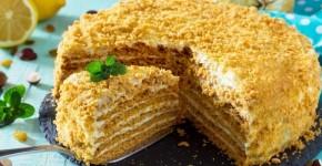 foto tort medovik recept 1