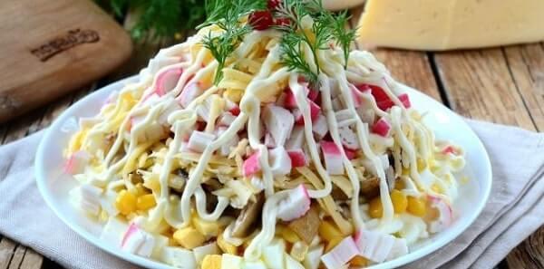 foto salat s gribami 1